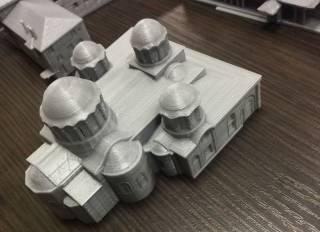 В Киеве представят уникальные 3-D макеты Афона и Великой Лавры