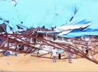 Как минимум 60 человек погибли под рухнувшей крышей храма в Нигерии