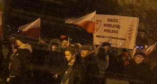 На митинге в Польше украинцам пожелали смерти