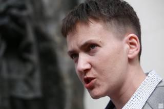 Боевики подтвердили, что встречались с Савченко, в СБУ не видят в этом проблемы, а сама Савченко отказывается от комментариев