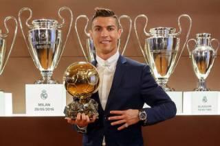 Роналду снова стал лучшим игроком мира. Ярмоленко довольствовался Украиной