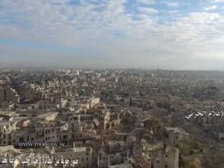 «Мертвый город»: так выглядит Алеппо с высоты птичьего полета после 4,5 лет войны