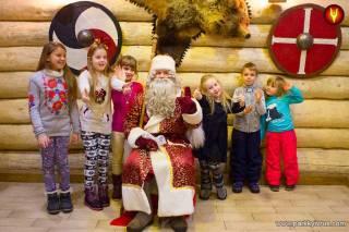 Главная резиденция Деда Мороза открывается в Древнем Киеве уже на этой неделе