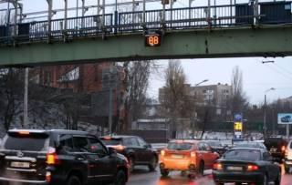 Киевским водителям решили показать, как они превышают скорость. А лучше бы - днепровским