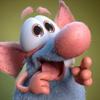 Не пропустите новый украинский анимационный 3D сериал про любопытную крысу по имени Rattic