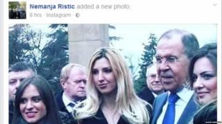Одного из обвиняемых по делу о попытке переворота в Черногории заметили рядом с Лавровым