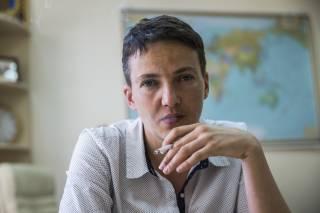 Савченко утверждает, что ее хотят уничтожить