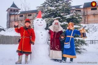 «Парк Киевская Русь» зовет на Новогоднюю сказку