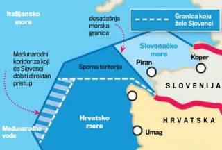 Посольство Хорватии тонко потроллило власти Словении при помощи конфет