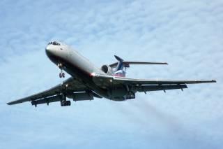 Российский военный самолет упал в Черное море