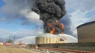 В Израиле прогремел мощный взрыв на нефтеперерабатывающем заводе