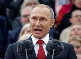 Путин лично пустил газ из России в аннексированный Крым