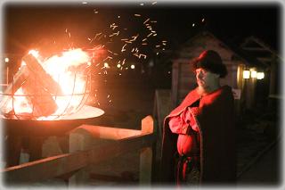 В новогоднюю ночь гостей Древнего Киева поздравит сам Князь
