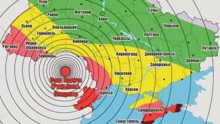 По Украине снова прокатилась волна румынского землетрясения. Второй раз за год