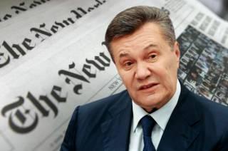 The New York Times: Украине нельзя евроинтегрироваться, Янукович прав