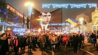 В Киеве на Марше Бандеры потребовали выгнать евреев из Украины