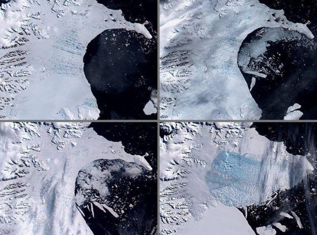 Ученые предупредили оботколе наибольшего айсберга завсю историю