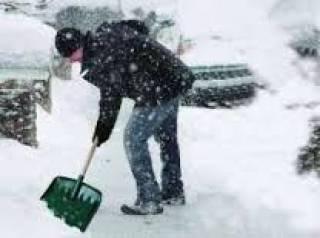 В закарпатском селе для борьбы со снегом выделили очень необычную «спецтехнику»