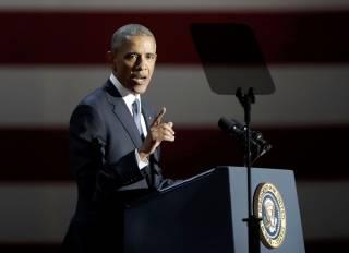 Обама обратился к американцам с прощальной речью