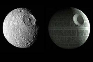 NASA опубликовало новый высококачественный снимок знаменитой «Звезды Смерти» в окрестностях Сатурна