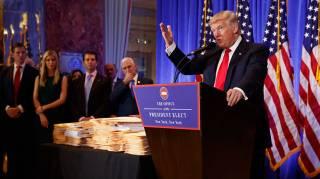 10 главных тезисов Большого Дональда на его первой пресс-конференции