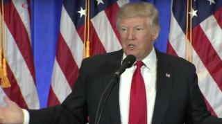 На первой пресс-конференции Трамп рассказал о связях с Россией