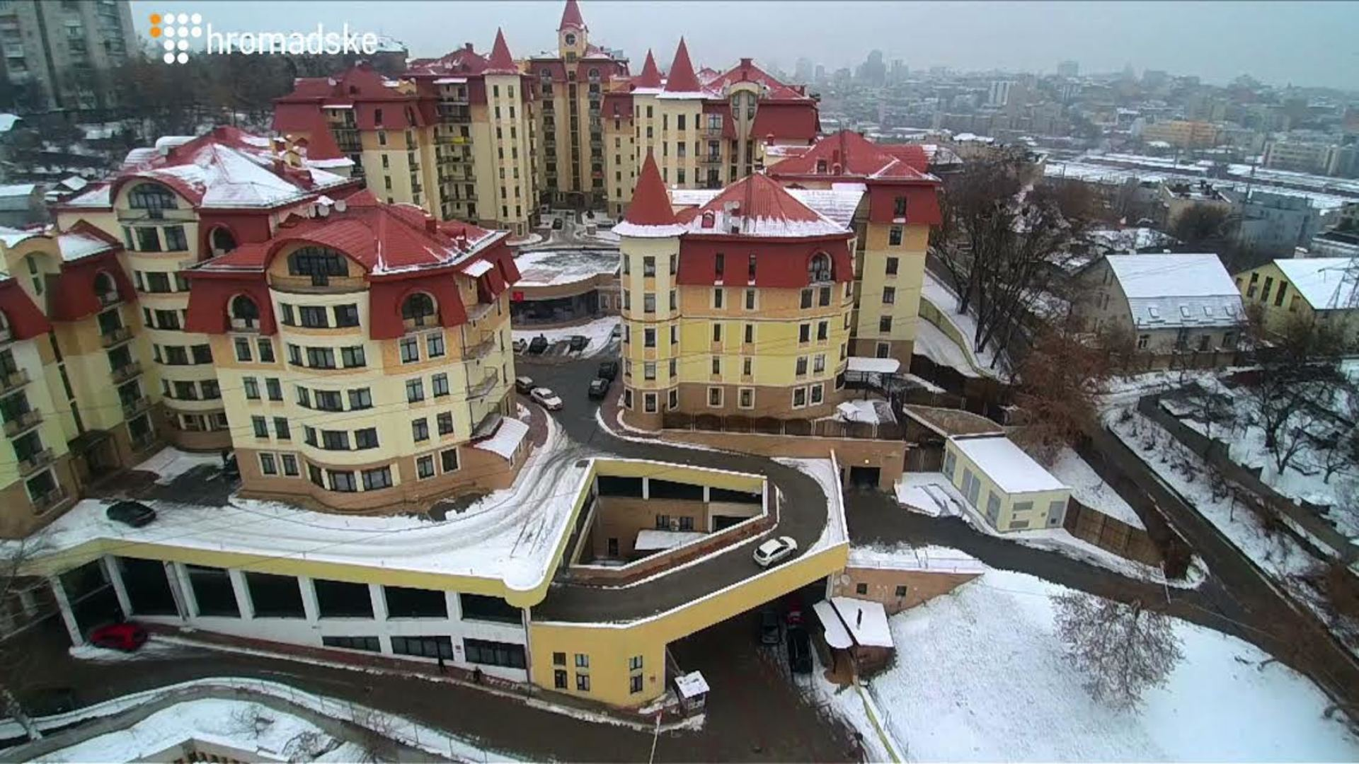 Усемьи Турчинова отыскали новые роскошные дома под Киевом