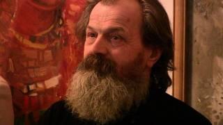 Автор росписей в Михайловском Златоверхом монастыре открыл персональную выставку