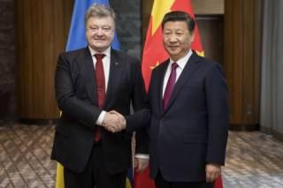 Порошенко попросил заступничества у Китая, который помогал России прокладывать «энергомост» в Крым
