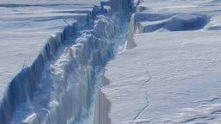 Британские полярники наглядно показали угрожающие последствия глобального потепления