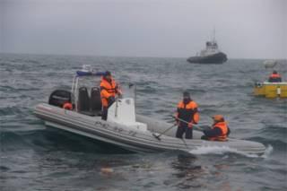 В районе крушения российского Ту-154 под Сочи обнаружен американский бомбардировщик