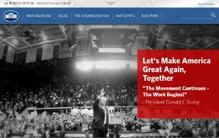 Трамп убрал с сайта Белого дома упоминания об ЛГБТ и климате, а из Овального кабинета — бюст Мартина Лютера Кинга