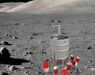 Теперь точно можно лететь: американские студенты придумали способ варить пиво на Луне