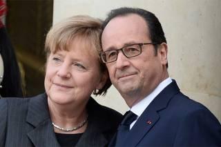 Меркель и Олланд заявили о единстве пред лицом популизма и Трампа