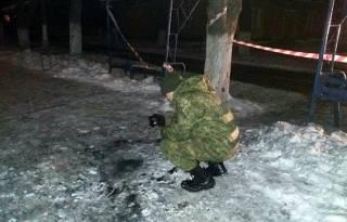 Во время факельного шествия в Славянске прогремел взрыв