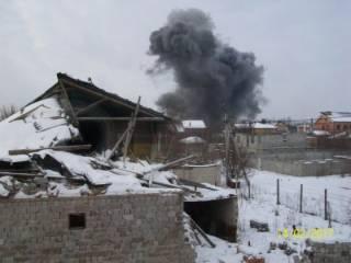 В Донецке прогремел очередной мощный взрыв. Боевики сообщают о жертвах и «Точке-У»