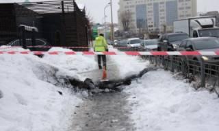 В самом центре Киева прогремел взрыв. У пешеходов обгорела одежда, один получил ожоги лица
