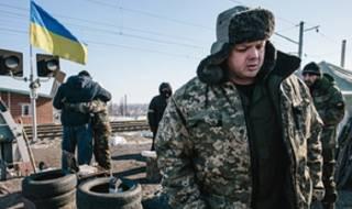 Семенченко утверждает, что Порошенко наметил разгон участников блокады Донбасса на 23 февраля