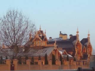 Глава Оппоблока построил на берегу Днепра шикарную дачу в виде терема