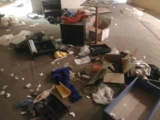 После конфликта с российской полицией кто-то разгромил «музей Новороссии» в Питере