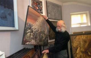 В МВД рассказали о краже сотни картин Марчука и намекнули, что на великого художника покушались