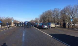Подъездные дороги к границам со Словакией, Румынией и Польшей заблокированы
