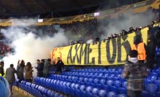 Харьковчане нецензурно намекнули Ахметову, что его «шахтерам» в городе не рады