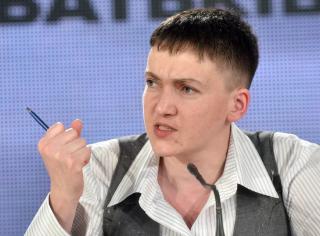 Савченко опубликовала очередной список пленных