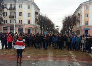 Белоруссию захлестнули массовые акции протеста