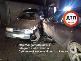 Под Киевом пьяный сотрудник Минобразования спровоцировал серьезное ДТП