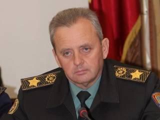 Во время захвата Крыма Россией украинские бойцы вступили в бой с диверсантами на материковой Украине, — Муженко