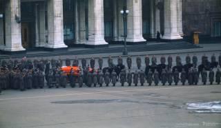 Спустя полвека опубликовано первое цветное видео похорон Сталина, сделанное американским военным