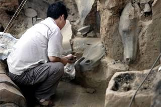 Китайские археологи обнаружили огромный клад лидера крестьянского восстания