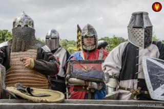 В «Парке Киевская Русь» отрывается сезон рыцарских боев